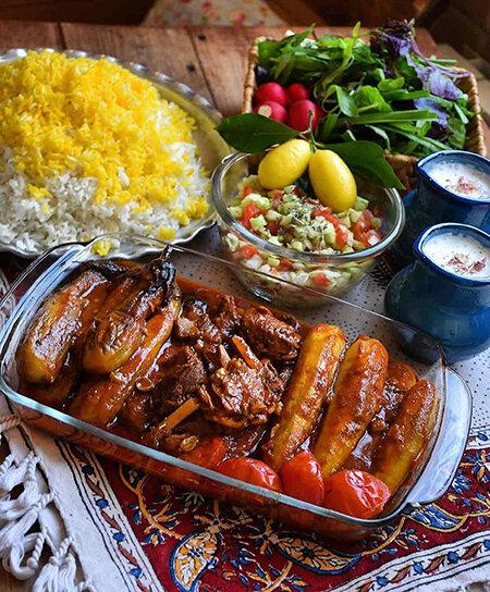 طرز تهیه خورش بادمجان اصیل و خوشطعم ایرانی