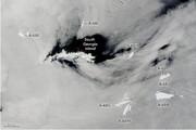 بزرگترین کوه یخی جهان شکسته شد/ عکس