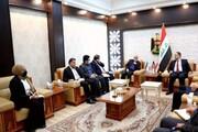سفیر ایران در عراق با وزیر تجارت این کشور دیدار کرد