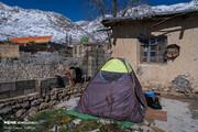 تازهترین تصاویر از زلزله زدگان سی سخت بعد از ۶ روز