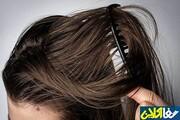 درمان خانگی کاهش چربی موی سر