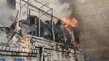 آتشسوزی انبار پوشاک در شیراز قربانی گرفت
