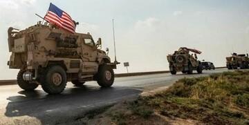 ورود کاروان نظامی آمریکا به سوریه
