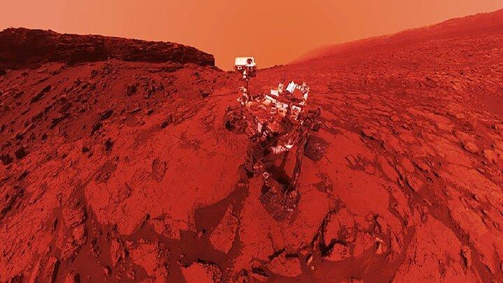 انتشار نخستین صدای ضبط شده از مریخ /فیلم