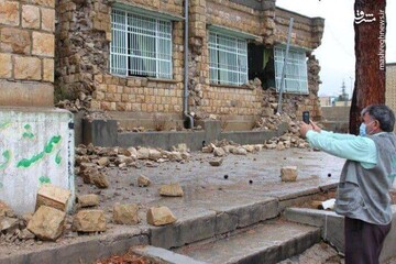 مشکلات مردم «سی سخت» پس از وقوع زلزله / فیلم