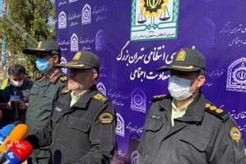 صحبت های رییس پلیس تهران در خصوص نحوه دستگیری عامل انتحاری در عوارضی تهران / فیلم