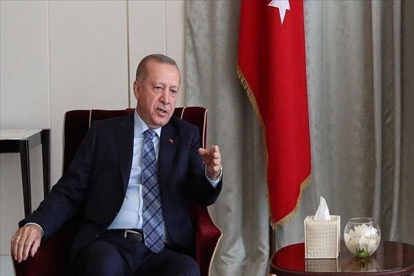 اردوغان باز هم «پ ک ک» را تهدید کرد