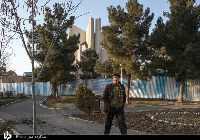وضعیت نابسامان «مقبره الشعرا» در تبریز/ تصاویر