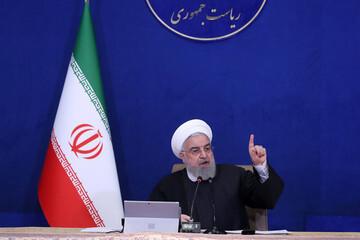 روحانی:مردم ایران علیوار در مقابل مشکلات ایستادند