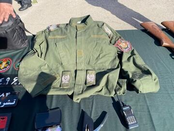 سردار قلابی در تهران دستگیر شد/ عکس