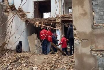 مرگ مرد میانسال کرمانشاهی بر اثر ریزش دیوار ساختمان متروکه