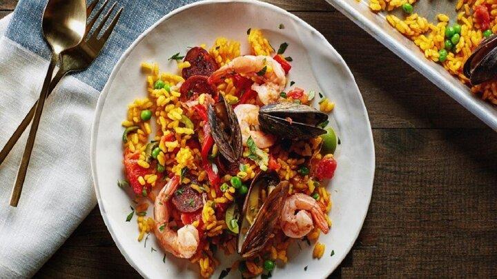 پایلا غذای لذیذ و اصیل اسپانیایی + طرز تهیه