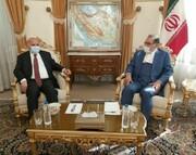 دیدار وزیر خارجه عراق با دبیر شورای عالی امنیت ملی
