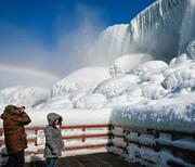 یخ زدن آبشار نیاگارا / تصاویر