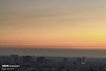 وضعیت کیفی هوای تهران امروز ۹ اسفند ۹۹