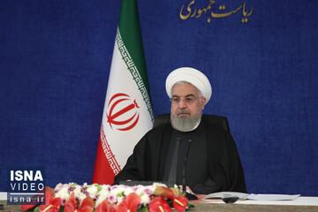 روحانی: تمرکز دولت بر خرید واکسن است | هر اندازه که بتوانیم واکسن تهیه می کنیم / فیلم