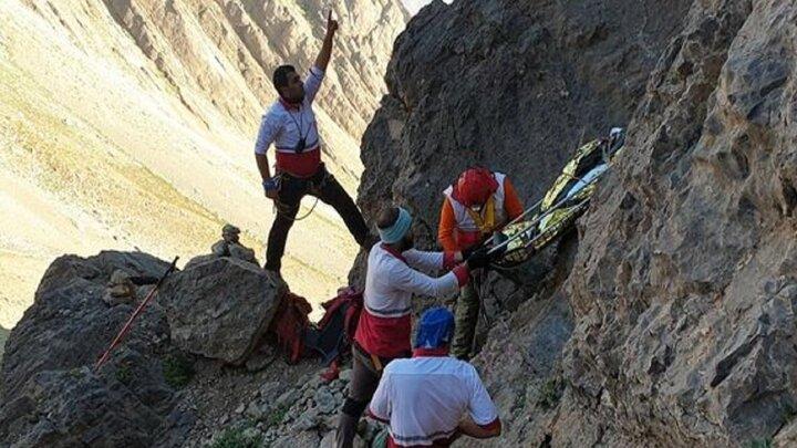 سقوط مرگبار از کوه صفه اصفهان