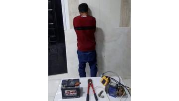 دزد ۲۰ ثانیهای ایران دستگیر شد!/ عکس