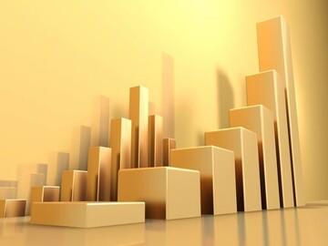 قیمت طلا یک درصد صعود کرد