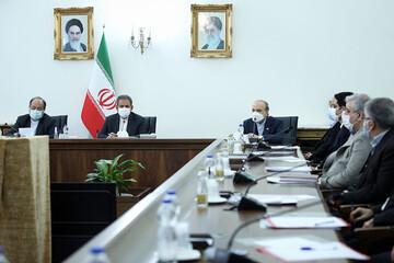 برگزاری جلسه شورای عالی جوانان با حضور اسحاق جهانگیری / تصاویر