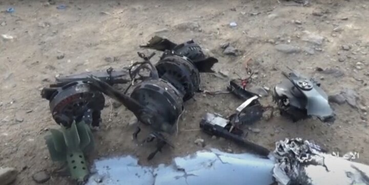 پهپاد ائتلاف سعودی در یمن سرنگون شد