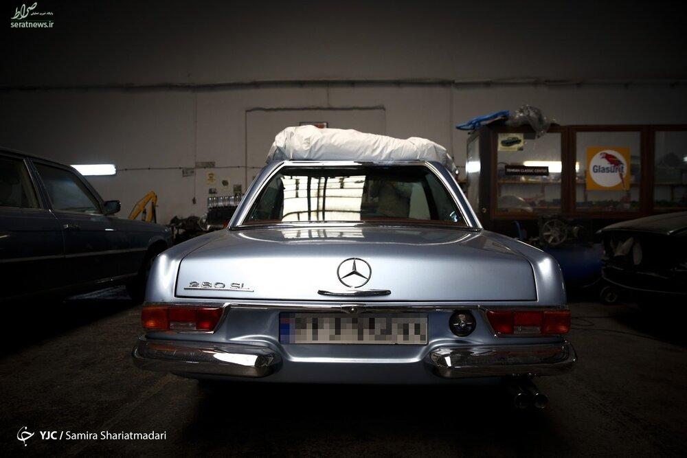 کمیابترین خودروهای کلاسیک در تهران / تصاویر
