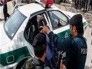 دستگیری فرد قمه به دست با تیراندازی پلیس در کرج/ فیلم