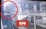 لحظه دلهره آور سقوط کودک دوساله از طبقه ۱۲ ساختمان / فیلم