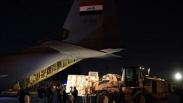 ورود محموله واکسن چینی سینوفارم به فرودگاه بغداد