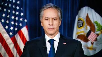 پیام وزیر خارجه آمریکا به ایران با خط نستعلیق/عکس