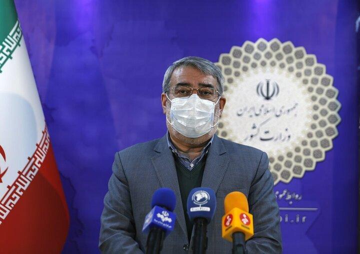 وزیرکشور: روند رشد کرونا در خوزستان کاهشی شد