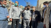 حضور احمدی نژاد در میان جمعی از مردم البرز در اوج کرونا/عکس