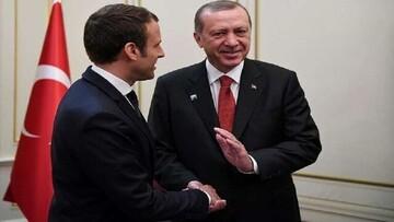 اردوغان و ماکرون به صورت مجازی گفت و گو کردند