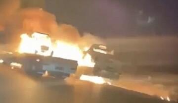 حمله به کاروانهای تدارکاتی نیروهای آمریکا در عراق