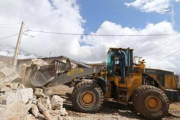 تصاویری تازه از شهر زلزلهزده سیسخت /فیلم