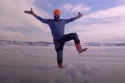 رقص جالب مرد هندی پس از تزریق واکسن کرونا / فیلم