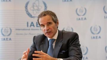 گروسی از برگزاری نشستی فنی با ایران طی ماه آینده خبر داد