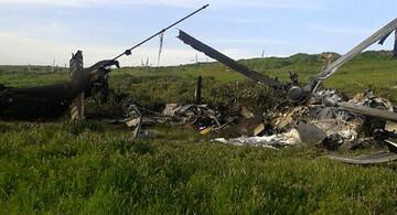 کشته شدن ژنرال نیروی زمینی ترکیه در سانحه سقوط بالگرد