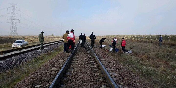 برخورد مرگبار جوان قمی با قطار