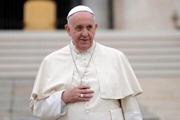 لحظه ورود پاپ فرانسیس به عراق / فیلم