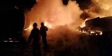 وقوع انفجارهای شدید در شمال استان حلب