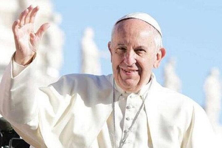 پاپ فرانسیس عازم عراق شد / فیلم