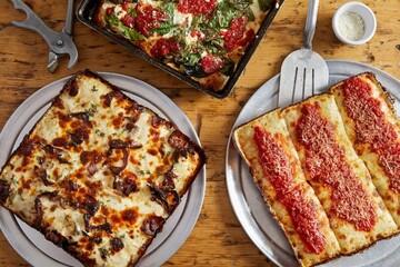 دستور پخت پیتزا فیلادلفیا + مواد لازم