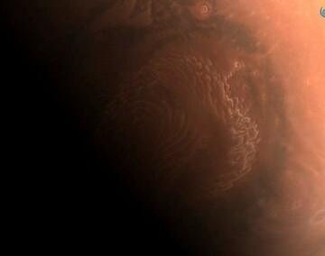 تصاویر جدید و خیره کننده کاوشگر چینی از مریخ