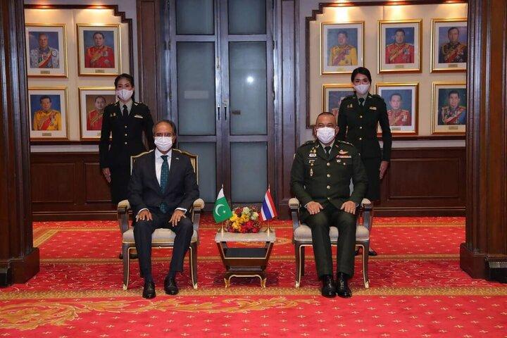 امضای توافقنامه دفاعی میان پاکستان و تایلند