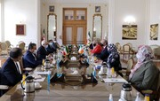 دیدار وزرای خارجه ایران و ایرلند در تهران