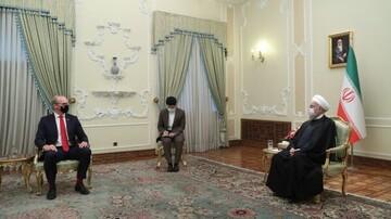 وزیر خارجه ایرلند با روحانی دیدار کرد / تصاویر