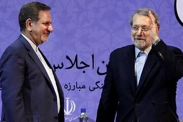 جهانگیری بیاید، لاریجانی کاندیدا نمیشود