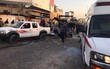۲ انفجار شدید در شرق بغداد به وقوع پیوست