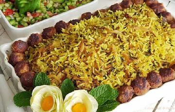 دستور پخت کلم پلو شیرازی خوشمزه و خوش طعم + مواد لازم